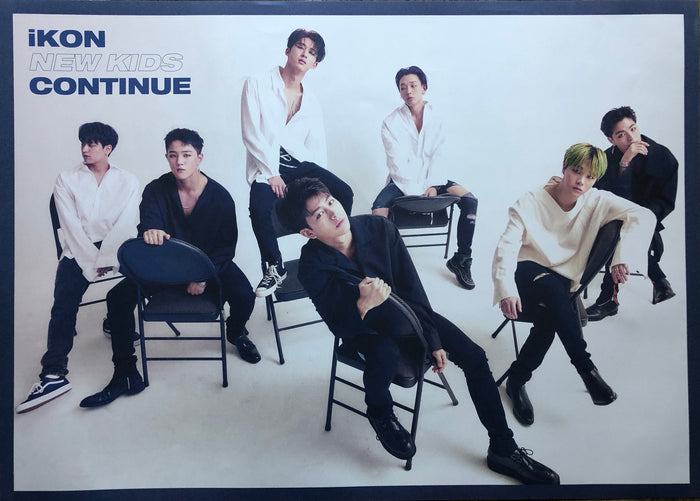 IKON MINI ALBUM [NEW KIDS: CONTINUE] OFFICIAL POSTER