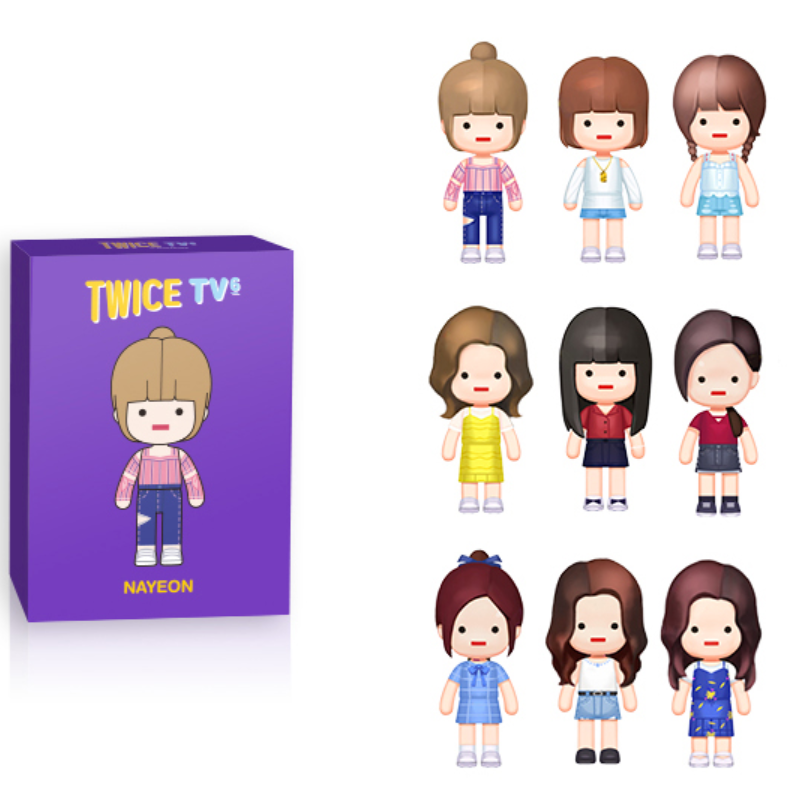 TWICE TV6 in SINGAPORE BRICK FIGURES