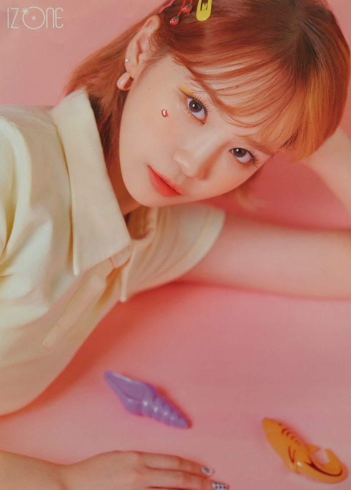 IZ*ONE 3rd Mini Album ONEIRIC DIARY Official Poster - Photo Concept Chaewon