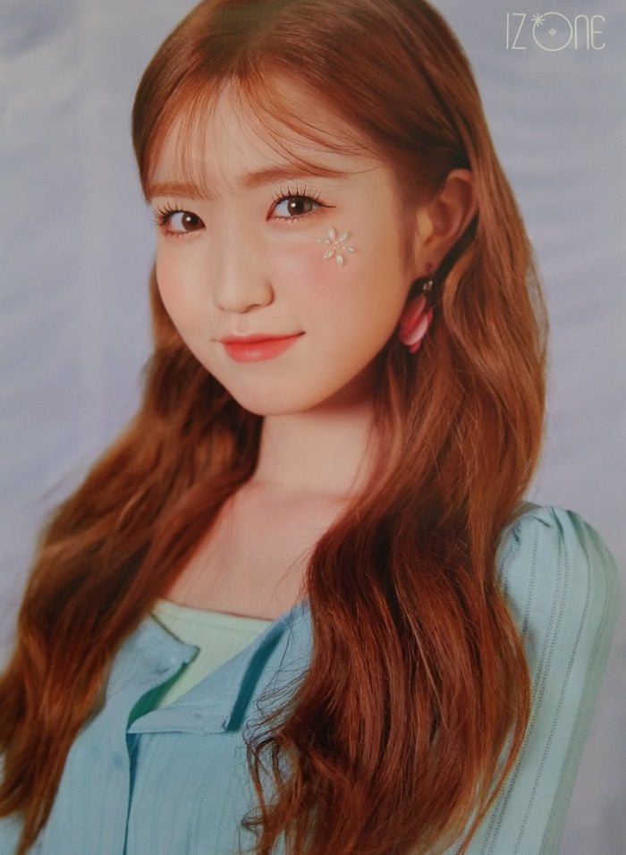 IZ*ONE 3rd Mini Album ONEIRIC DIARY Official Poster - Photo Concept Hitomi