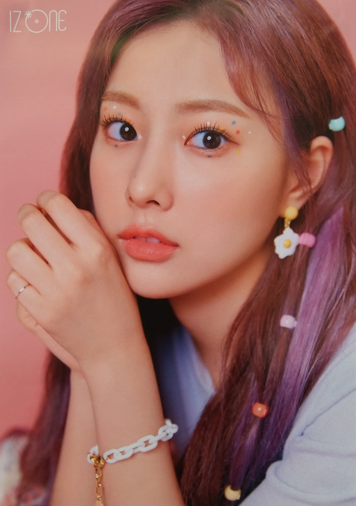 IZ*ONE 3rd Mini Album ONEIRIC DIARY Official Poster - Photo Concept Hyewon