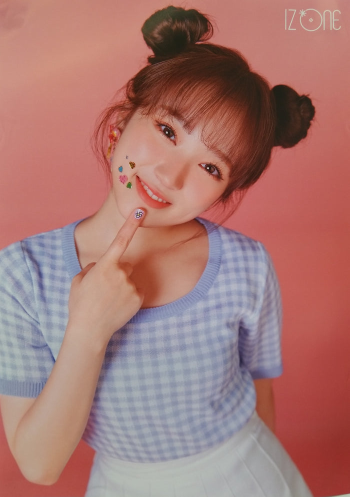 IZ*ONE 3rd Mini Album ONEIRIC DIARY Official Poster - Photo Concept Nako