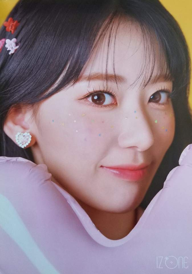 IZ*ONE 3rd Mini Album ONEIRIC DIARY Official Poster - Photo Concept Sakura