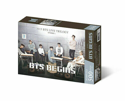 BTS Official Merchandise - Jigsaw Puzzle World Tour [BTS Begins]