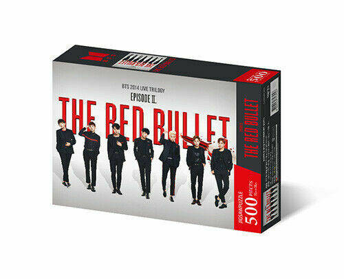 BTS Official Merchandise - Jigsaw Puzzle World Tour [The Red Bullet]