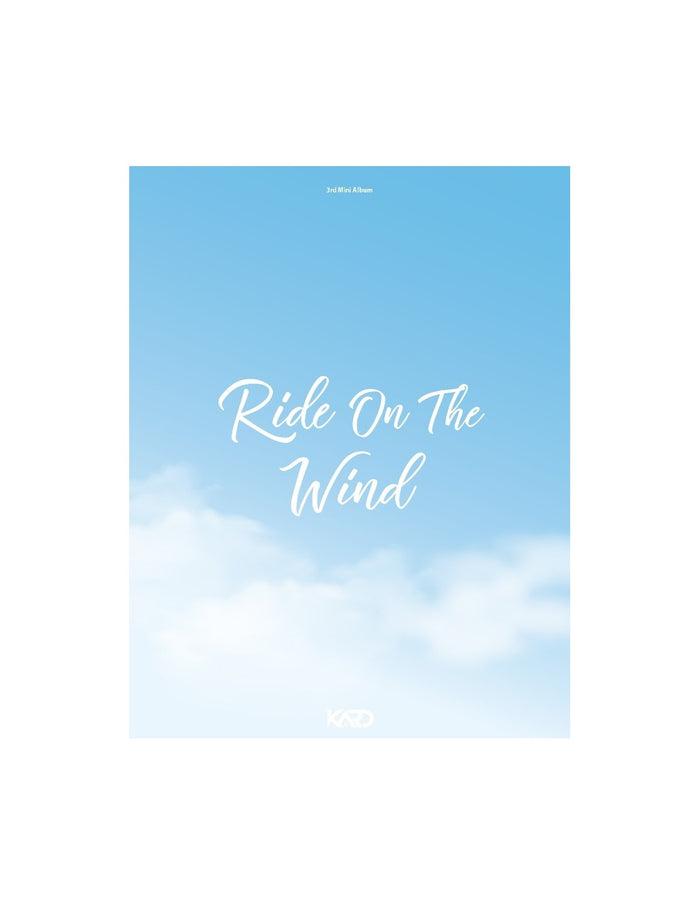 [Pre-Order] KARD 3RD MINI ALBUM RIDE ON THE WIND