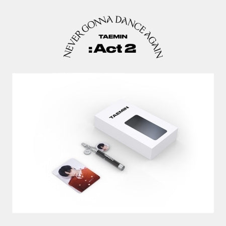 [Pre-Order] TAEMIN NEVER GONNA DANCE AGAIN : ACT 2 OFFICAL MERCHANDISE - PHOTO PROJECTION KEYRING