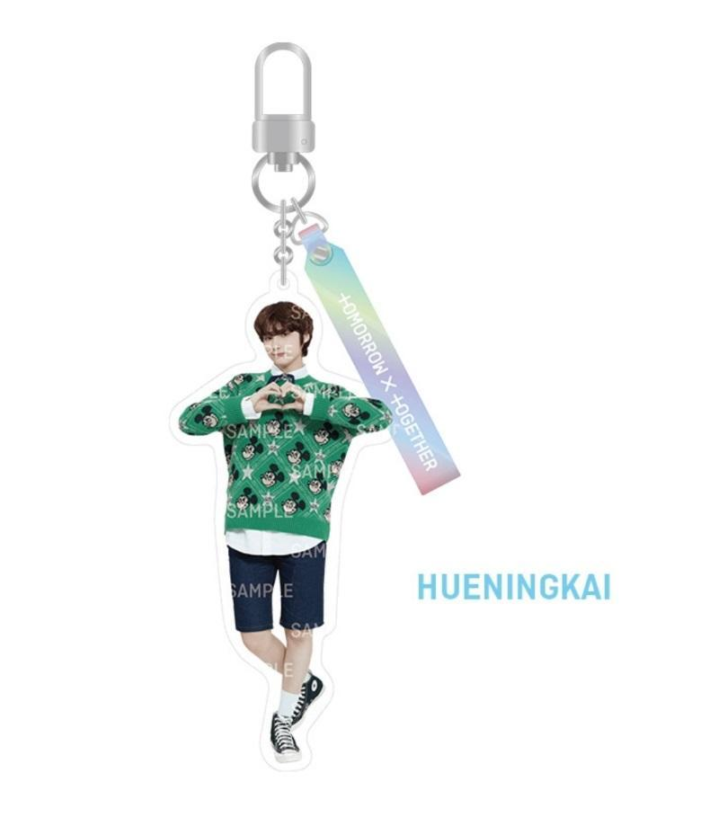 TXT SHINE X TOGETHER Official Merchandise - Acrylic Keyring