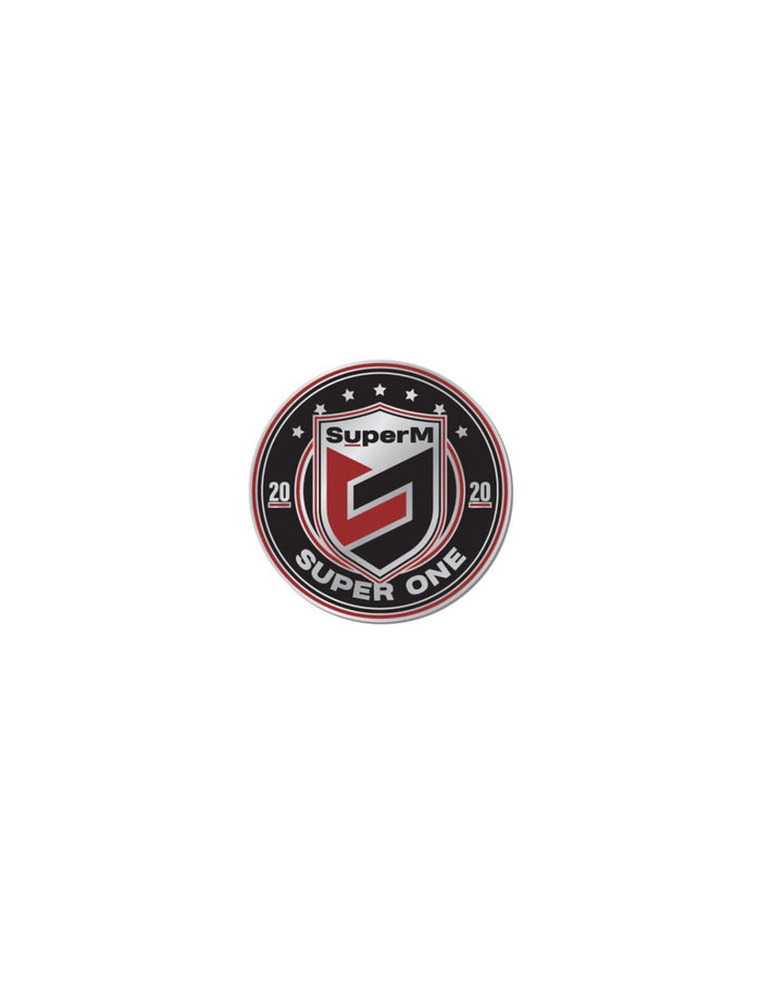 SuperM SuperOne Official Merchandise - Logo Badge