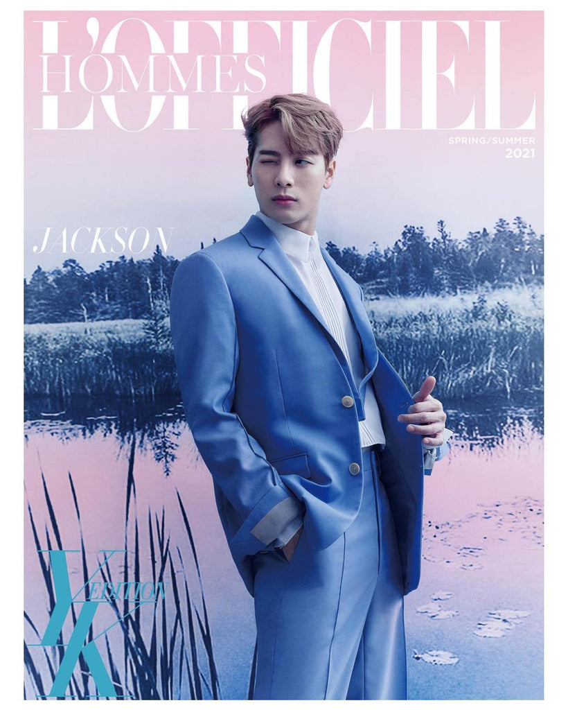 L'OFFICIEL HOMMES YK EDITION SPRING/SUMMER 2021 (JACKSON)