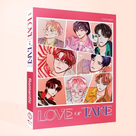 PENTAGON 11th Mini Album - LOVE or TAKE