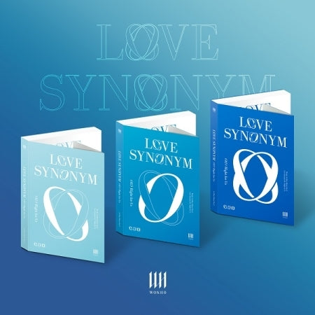 [Pre-Order] WONHO 1st Mini Album Part2 - LOVE SYNONYM 2. Right for Us