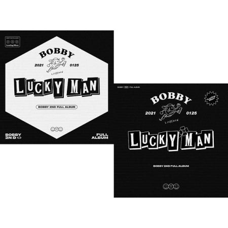 [Pre-Order] BOBBY 2nd Album - LUCKY MAN