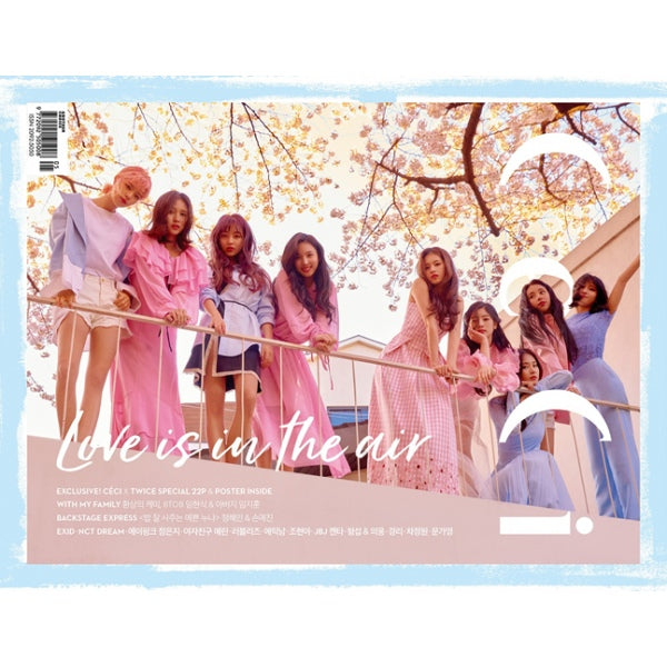 CECI Magazine 2018.05 [Twice, NCT Dream, Lovelyz, JBJ, BTOB, EXID] (B Ver.)