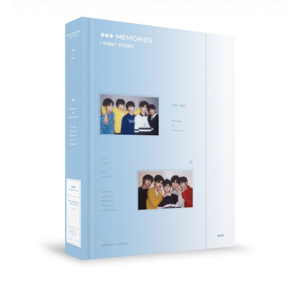 [Pre-Order] TXT MEMORIES : FIRST STORY DVD (4DISC)