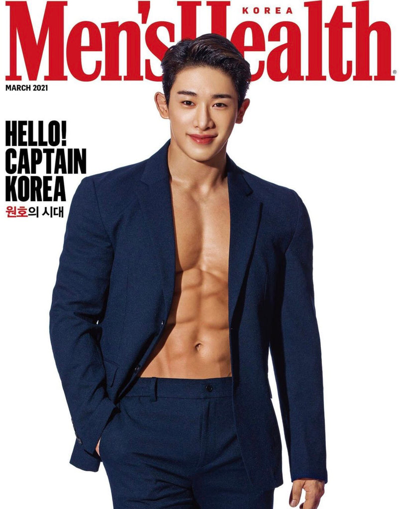[Pre-Order] WONHO 2021 MEN'S HEALTH MAGAZINE