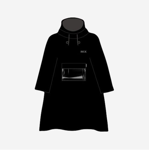 MONSTA X 2018 WORLD TOUR [THE CONNECT] OFFICIAL GOODS - RAIN COAT