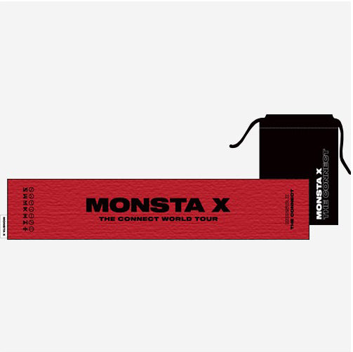 MONSTA X 2018 WORLD TOUR [THE CONNECT] OFFICIAL GOODS - TOWEL SLOGAN