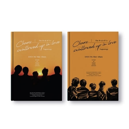 [Pre-Order] DAY6 7th Mini Album - The Book of Us : Negentropy Chaos swallowed up in love