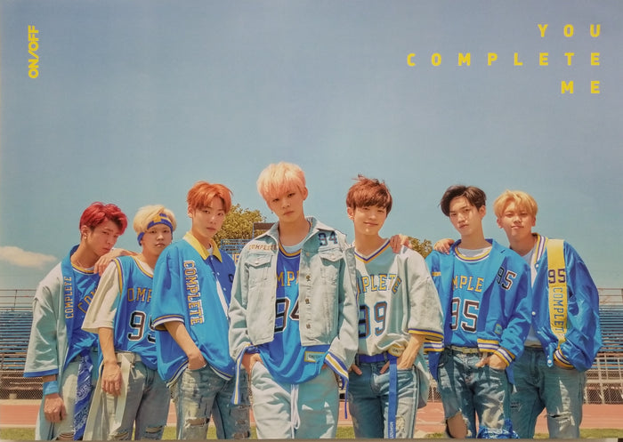 ONF 2nd Mini Album You Complete Me Official Poster - Photo Concept 1