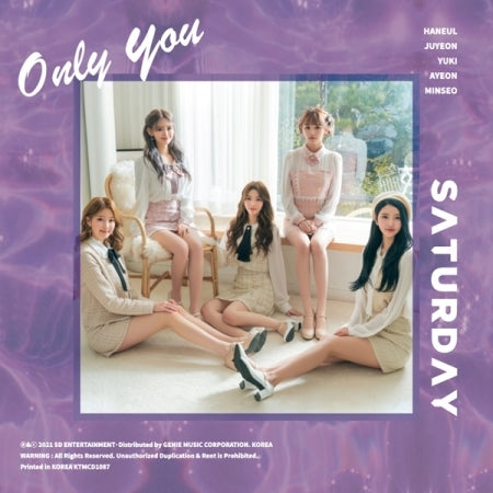 [Pre-Order] SATURDAY 5th Single Album - Only You