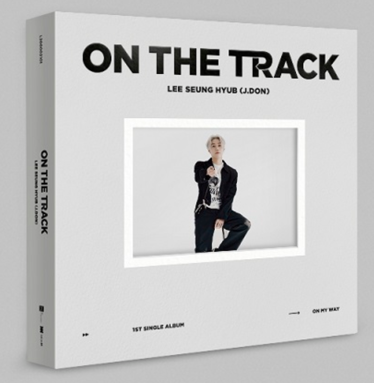 LEE SEUNG HYUB (J.DON) 1st Single Album - ON THE TRACK