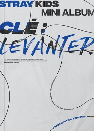 (Regular Edition) Stray Kids - Clé : LEVANTER