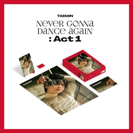 [Pre-Order] TAEMIN Official Merchandise - Never Gonna Dance Again : Act 1 PUZZLE PACKAGE