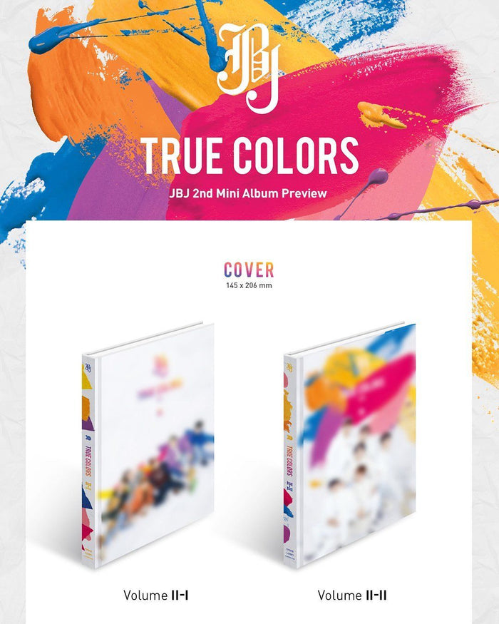 제이비제이 JBJ 2ND MINI ALBUM - TRUE COLORS