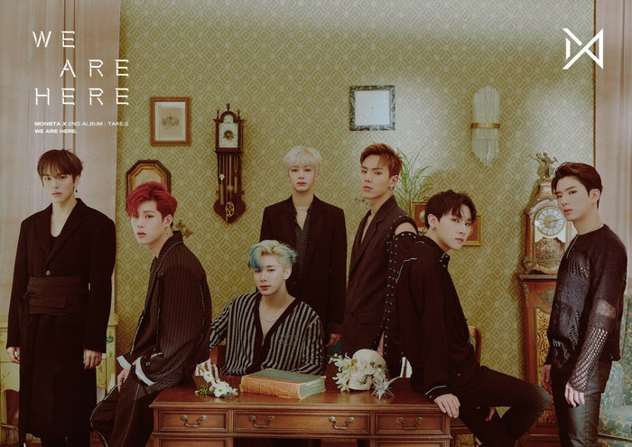 MONSTA X 2ND ALBUM [TAKE.2 WE ARE HERE] OFFICIAL POSTER - PHOTO CONCEPT 2