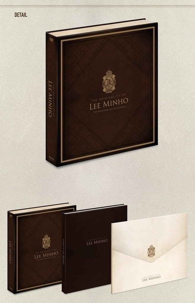 이민호 THE ORIGINALITY OF LEE MIN HO : 10TH ANNIVERSARY 2017 TALK CONCERT DVD