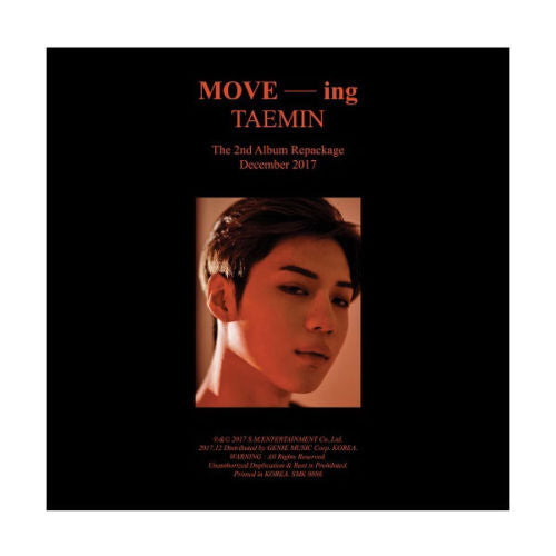 태민 TAEMIN 2집 리패키지 2nd Album Repackaged : MOVE-ING