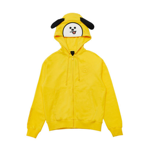 BT21 COSTUME HOODIE ZIP-UP