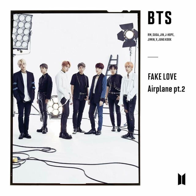 BTS Japanese Release - Fake Love Airplane pt. 2 Version B
