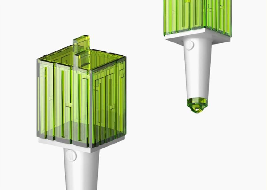 NCT - Official Mini Light Stick Keyring