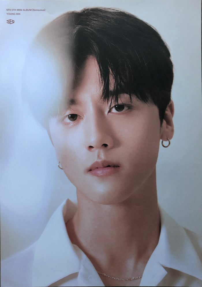 SF9 'Sensuous' Limited Edition Member Poster - Young Bin