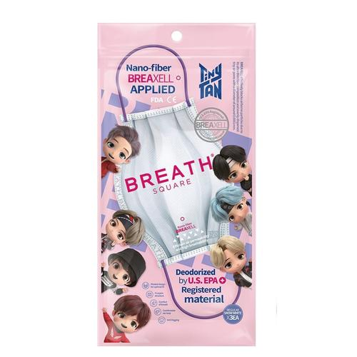 BTS TINYTAN BREATH SQUARE MASK