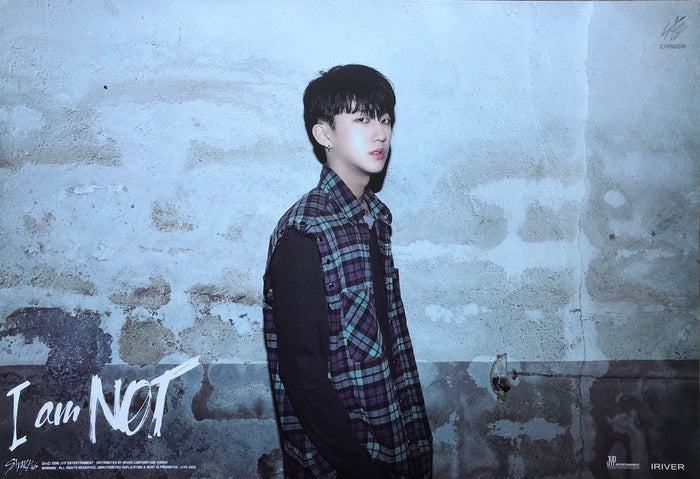 STRAY KIDS 1ST MINI ALBUM [I AM NOT] LIMITED EDITION MEMBER POSTER - CHANGBIN