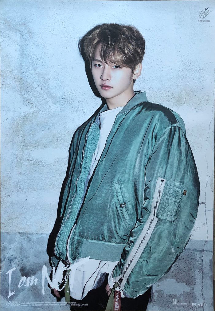 STRAY KIDS 1ST MINI ALBUM [I AM NOT] LIMITED EDITION MEMBER POSTER - LEE KNOW