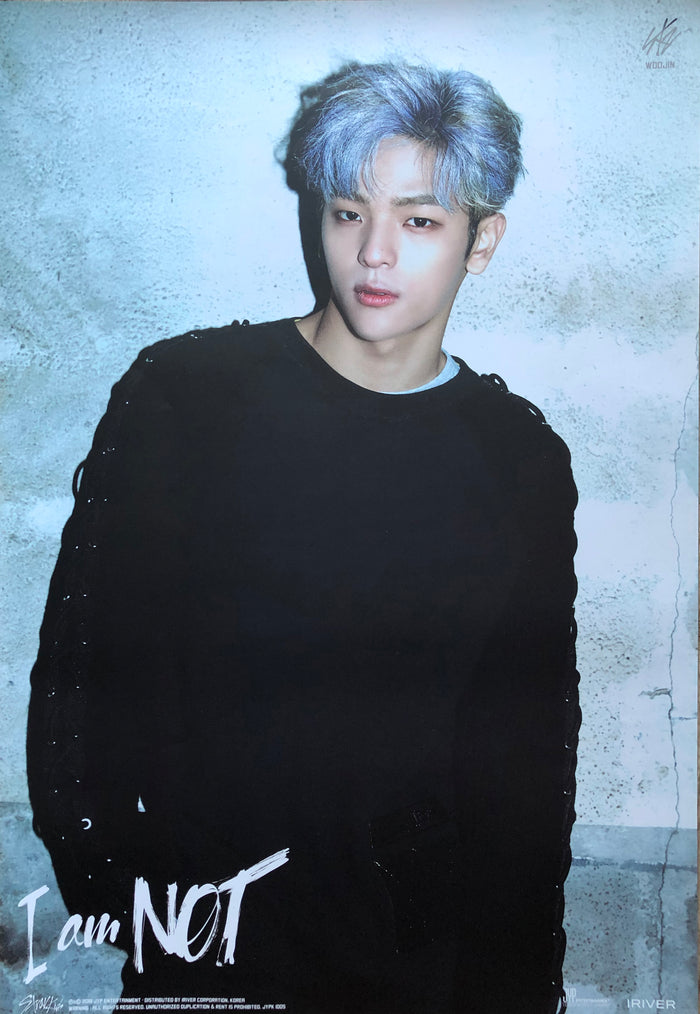 STRAY KIDS 1ST MINI ALBUM [I AM NOT] LIMITED EDITION MEMBER POSTER - WOOJIN