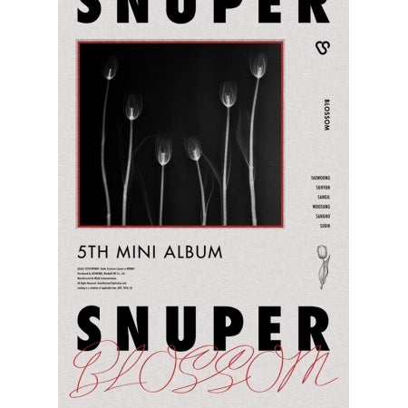 [PRE-ORDER] 스누퍼 NUPER 5TH MINI ALBUM - BLOSSOM