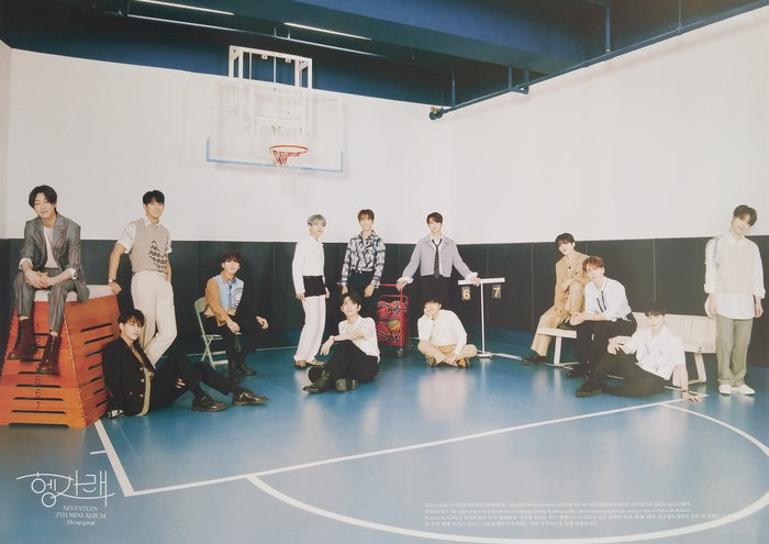SEVENTEEN 7th Mini Album Heng:garae Official Poster - Photo Concept Group