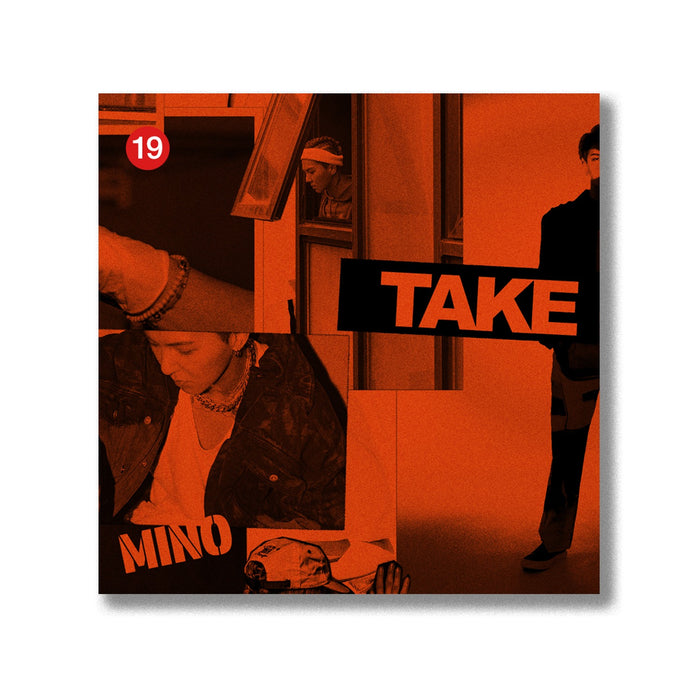 [KiT] MINO 2nd Album - TAKE (LIMITED KIT ver.) Air-KiT