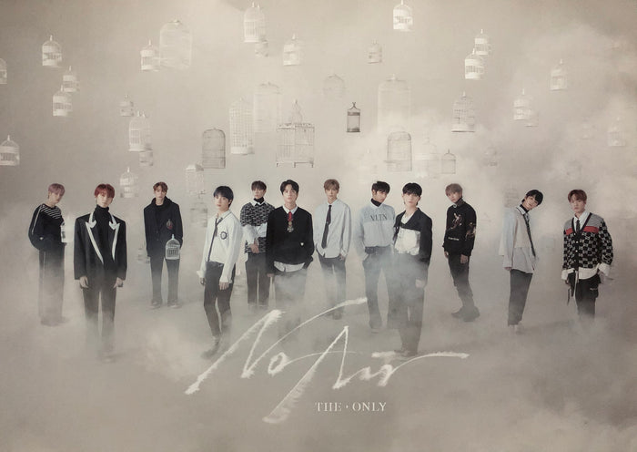 THE BOYZ 3RD MINI ALBUM [THE ONLY] - OFFICIAL POSTER (NO AIR Version)