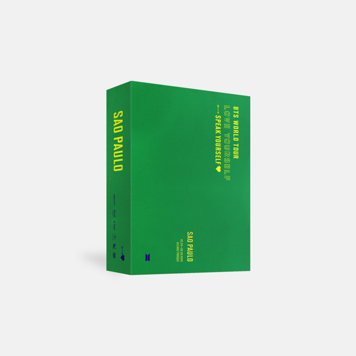 [Pre-Order] BTS WORLD TOUR 'LOVE YOURSELF: SPEAK YOURSELF' SAO PAULO DVD