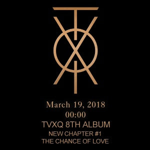 [Pre-Order] 동방신기 TVXQ 8th Album - New Chapter #1 : The Chance of Love