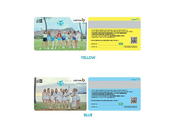TWICE Twaii's Shop Goods - CASHBEE CARD
