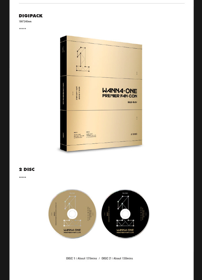 워너원 WANNA ONE - PREMIER FAN-CON DVD (Blu-Ray)