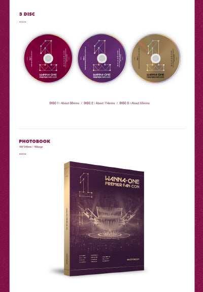 워너원 WANNA ONE - PREMIER FAN-CON DVD
