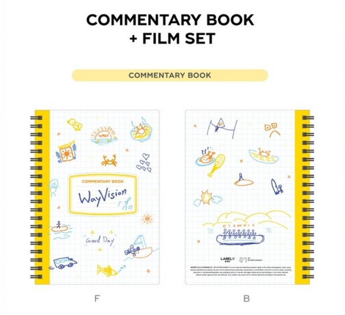 [Pre-Order] WayV - WayVision [Commentary Book + Film Set]